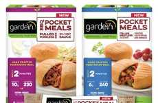 Breaded Vegan Pockets - Gardein's Meat-Free Meals Come in a Convenient Portable Pocket