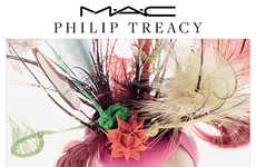 Milliner-Inspired Makeup Lines - The MAC x Philip Treacy Collaboration is Inspired by Fascinators