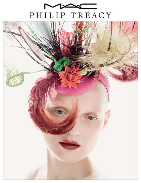 Milliner-Inspired Makeup Lines