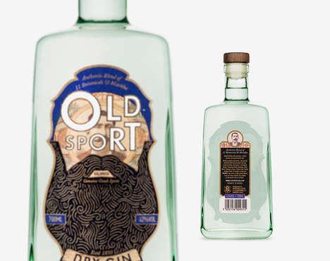 Bearded Booze Bottles