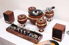 Brick Record Players
