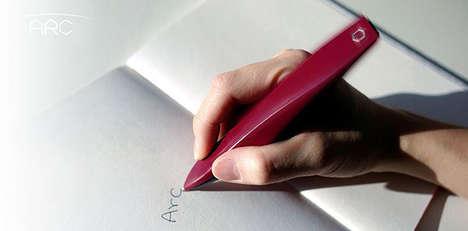 Tremor-Proof Pens