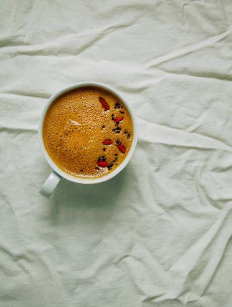 Berry Superfood Lattes