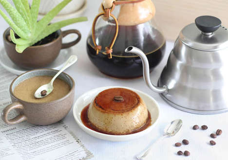 Coffee Cup Cakes - Heather Baird's Recipe for Flan in a Cup Makes a Perfect Single Serving