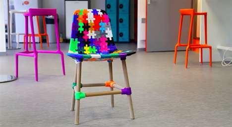 Collaborative Puzzle Chairs