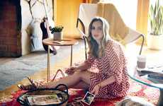 Minimalist Boho Lookbooks - The Jimmy Choo Spring/Summer Collection is Modeled by Leighton Meester
