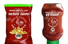 Hot Sauce Nibbles - Pop! Gourmet Foods Creates Official Sriracha Snack Line