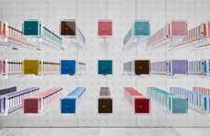 Undressed Chocolate Shops - The BbyB Chocolate Bar in Tokyo was Designed by Nendo