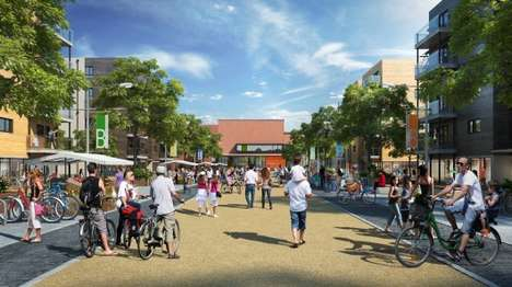 Groundbreaking Eco-Towns - North West Bicester is a Government-Designated Eco-Town in the UK