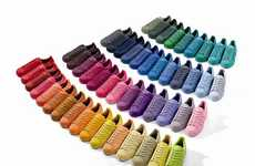 50-Color Shoe Collections