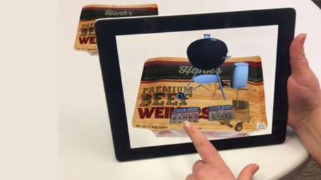 Augmented Sausage Packaging - Bemis' Transforms Branding with Interactive Package Systems