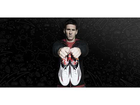 Neighborhood-Inspired Shoes - Adidas' Pibe de Barr10 Boots are Inspired By Leo Messi's Neighborhood