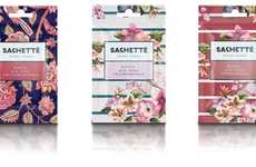 Patterned Cosmetics Sachets
