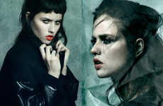 Sultry Goth Editorials