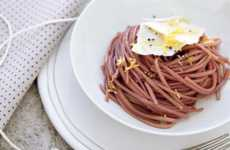 Simple Vino Pasta - Red Wine Linguine Has Flavor, No Frills and Your Fill of Resveratrol
