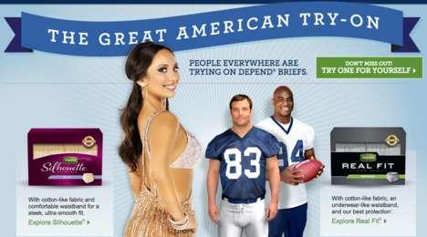 Celebrity Underwear Endorsements