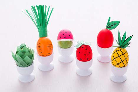 Fruity Easter Eggs