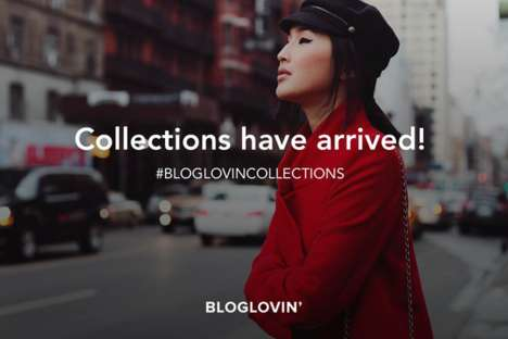 Personalized Blog Tools - Collections Gives Recommendations Through Online Inspiration Boards