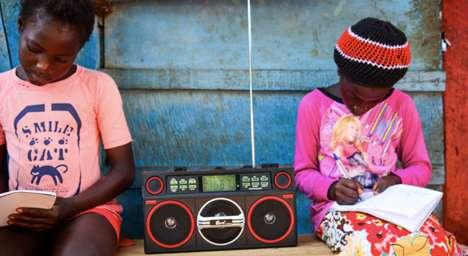 Kid-Produced Radio Programming