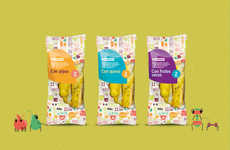 Healthy Breadstick Packaging - Eroski Breadsticks Features a Sneak-Peek Design