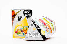 On-the-Go Snack Packaging - Portable Breakfast Products Make the Most Important Meal of the Day Easy