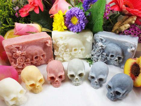 Macabre Skull Soaps