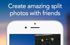 Split-Screen Photo Apps - WeSnap Allows Users to Take and Share Amazing Split Photographs