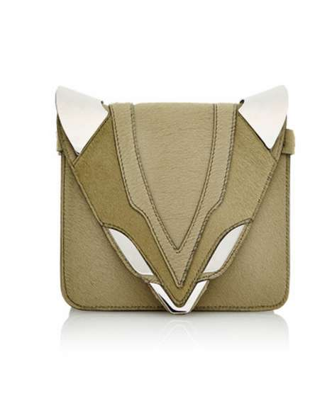 Sly Creature Clutches - Elena Ghisellini's Purse Line Focuses on the Fox in a Fashion-Forward Way