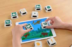 Tablet Stamping Blocks - The JouJou Cube Touch is a Modern, Mobile Stamp Pad