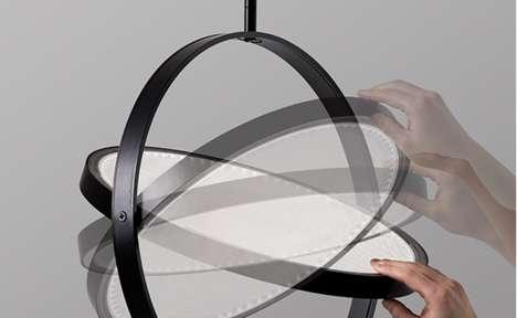 Pivoting Pendant Lamps