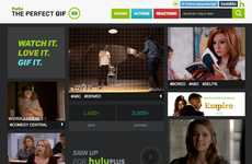 GIF Search Engines - Hulu's 'The Perfect GIF' Makes It Easy to Find and Share Funny TV Moments