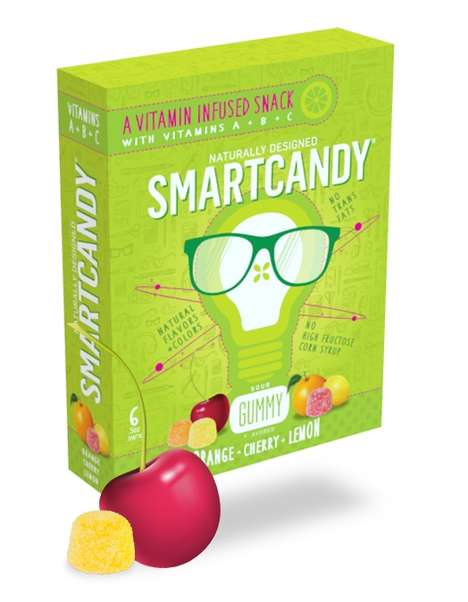 Nourishing Vitamin Candies - Smartcandy's Healthy Candy Snacks Boost Development with Vitamins