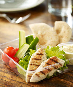 Mini Mediterranean Meals - The Starbucks Chicken and Hummus Bistro Box is Fresh and Filling