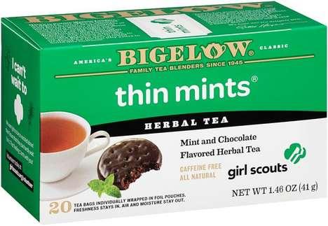 Cookie-Flavored Teas