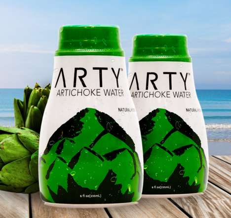 Healing Artichoke Water - ARTY's Healthy Water is Made from Artichokes