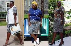 Expressive Plus-Sized Fashion