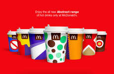 Conceptual Cup Ads - This Branding Project Imagines New Hot Drinks for McDonald's Restaurants