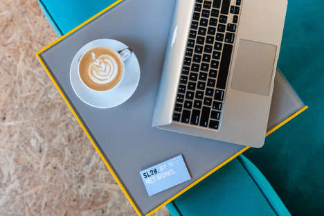 Members-Only Coffee Bars - This North London Coffee Shop Sits Within a Coworking Club