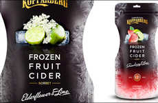 Refreshing Frozen Ciders - Kopparberg Has Announced the Release of a Frozen Cider Pouch