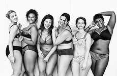 Sultry Plus-Size Campaigns