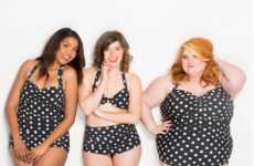 Body Positive Campaigns - Modeled by Employees, ModCloth's Swimsuits Promote a Positive Body Image