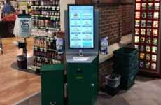 Sanitizing Touchscreen Stations