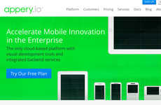 Cloud-Based App Builders - Appery.io Creates iPhone, Android and Windows Phone Platforms