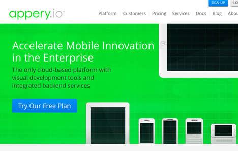 Cloud-Based App Builders