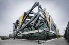 Tangled Steel Facades