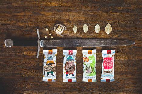 Viking-Branded Snacks
