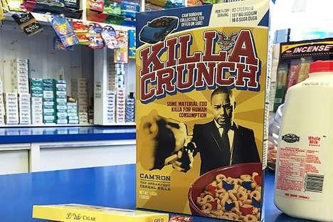 Rapper-Branded Cereal