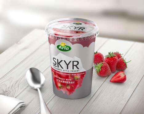 Arctic Yogurt Cups