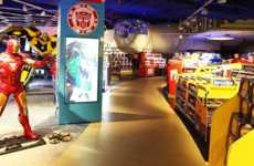Entertaining Toy Shops - Hamleys Toy Shop in Moscow Displays Toys Like Amusements in a Theme Park