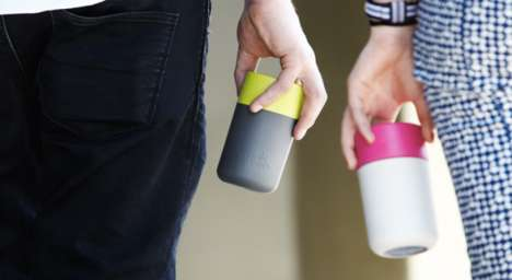 Smart Payment Mugs - Users Can Pay For Their Drinks Using the Environmentally Friendly Coffee Cup